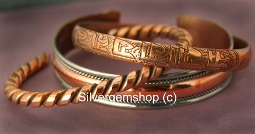 wholesale Copper Alloy Bracelet Packages (Package_CopperBracelets_20)