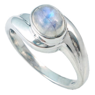 wholesale Wholesale Sterling Silver Gemstone Ring (R027RB_7)