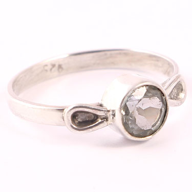 wholesale Wholesale Sterling Silver Gemstone Ring (R032BT_8)