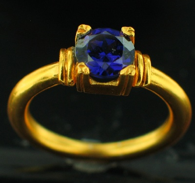 24k Gold Plated Ring (RG252P_9)