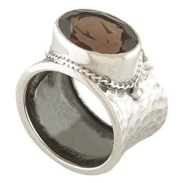 wholesale Sterling Silver Gemstone Ring (ecrg0322_6)