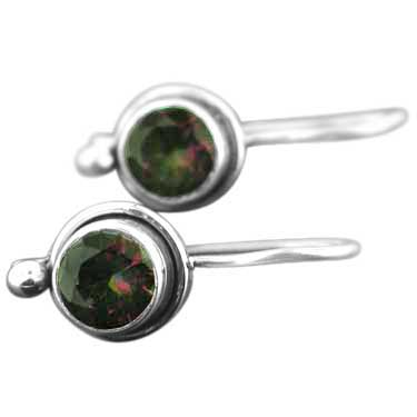 wholesale Sterling Silver Gemstone Earrings (ee64mtf)