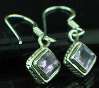 wholesale Sterling Silver Gemstone Earrings (ee669amef)
