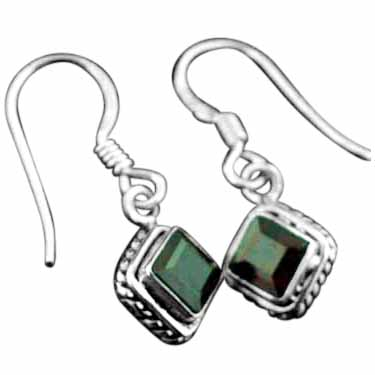 Sterling Silver Gemstone Earrings (ee669grf)