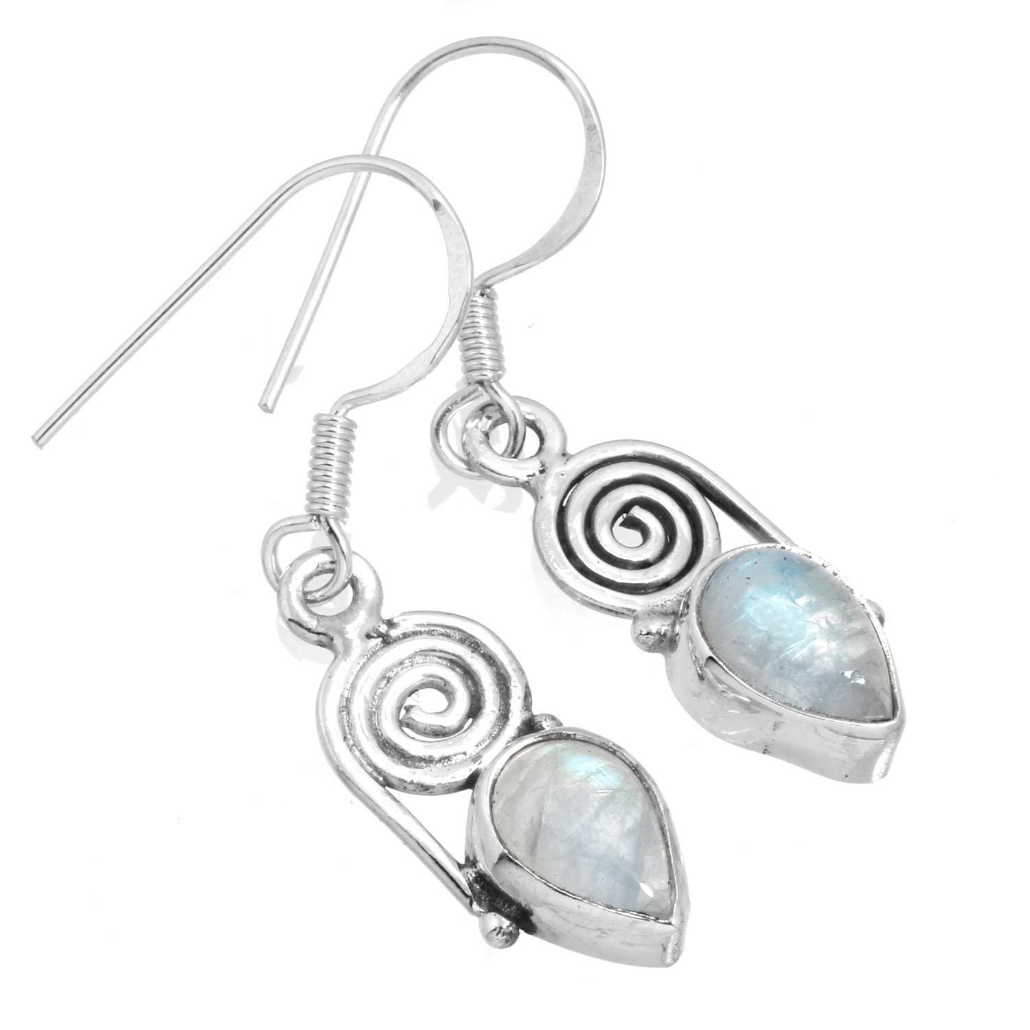 wholesale Sterling Silver Gemstone Earrings   (ee700rm)