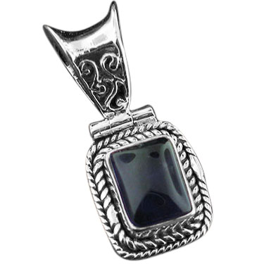 wholesale Sterling Silver Gemstone Pendant (pnc151ame)