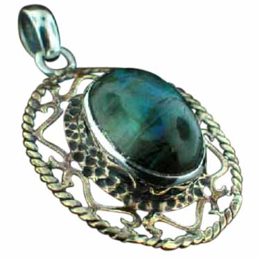 wholesale Sterling Silver & Brass Pendant (psb301lb)