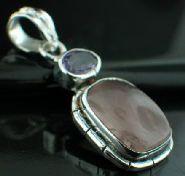 wholesale Silver Plated Pendant (psp33rs_amef)