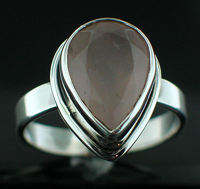 wholesale Sterling Silver Gemstone Ring (rg152rs_9)