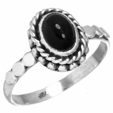 wholesale Sterling Silver Gemstone Ring (rg212bx_10)