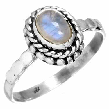 wholesale Sterling Silver Gemstone Ring (rg212rm_8)
