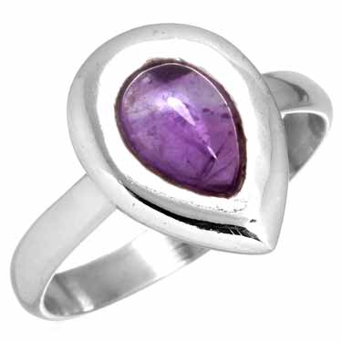 wholesale Sterling Silver Gemstone Ring (rg218ame_7)