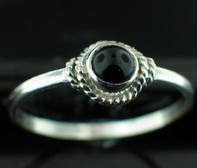 Sterling Silver Gemstone Ring (rg695bx_10)