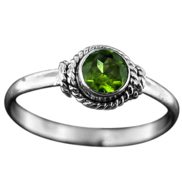 wholesale Sterling Silver Gemstone Ring (rg695prf_8)