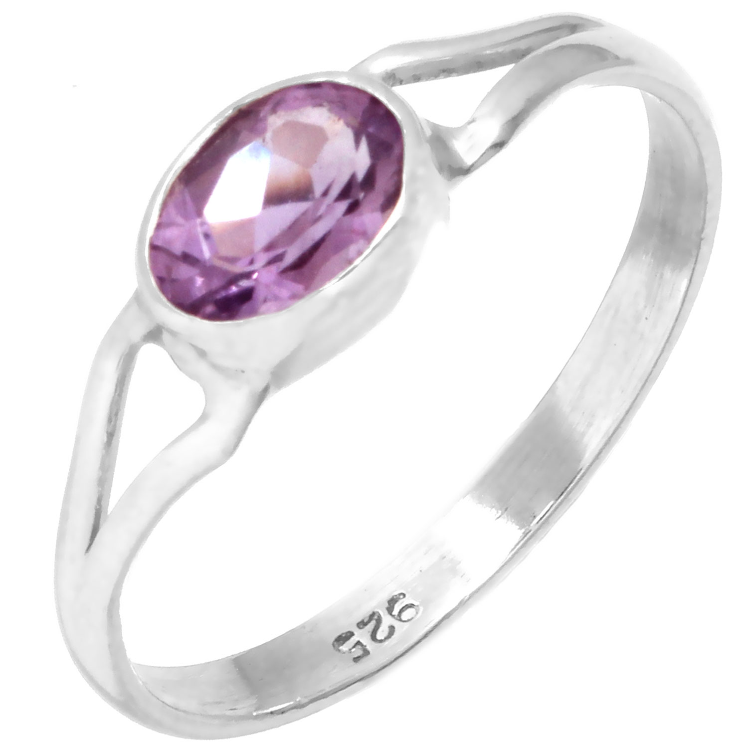 wholesale Sterling Silver Gemstone Ring (rg699amef_8)