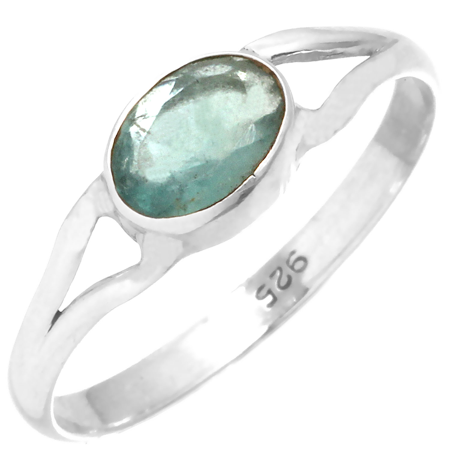 wholesale Sterling Silver Gemstone Ring (rg699flf_9)