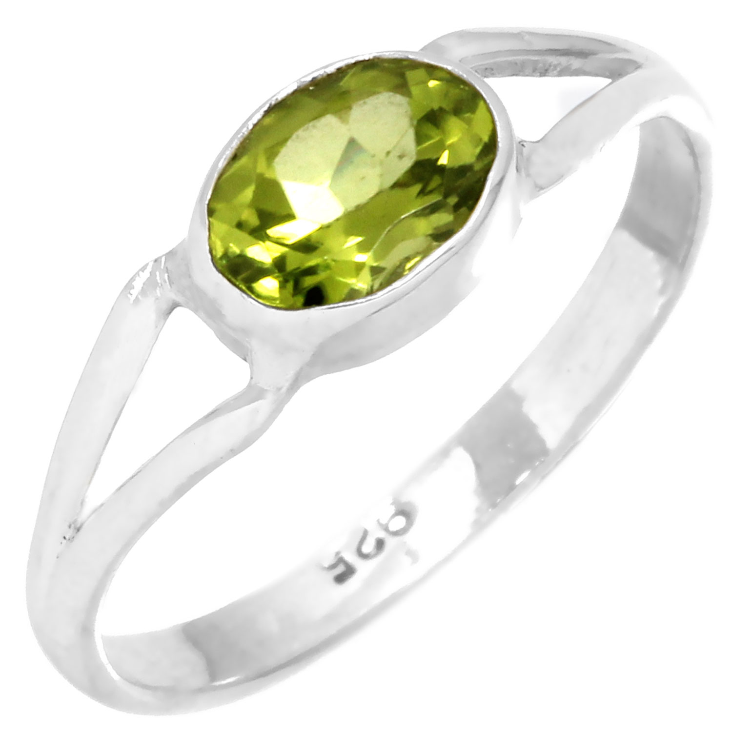 wholesale Sterling Silver Gemstone Ring (rg699prf)