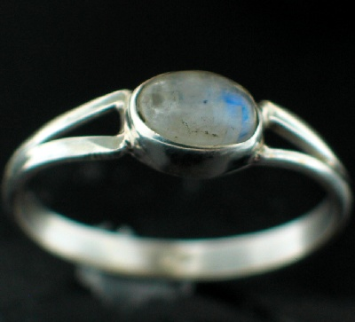 Sterling Silver Gemstone Ring (rg699rm_10)