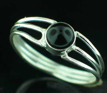 wholesale Sterling Silver Gemstone Ring (rg703bx_10)