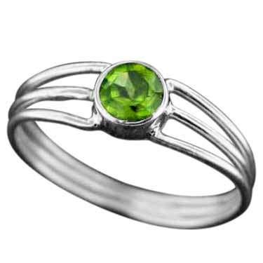 Sterling Silver Gemstone Ring (rg703prf_8)