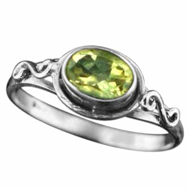 wholesale Sterling Silver Gemstone Ring (rg705ctf_9)