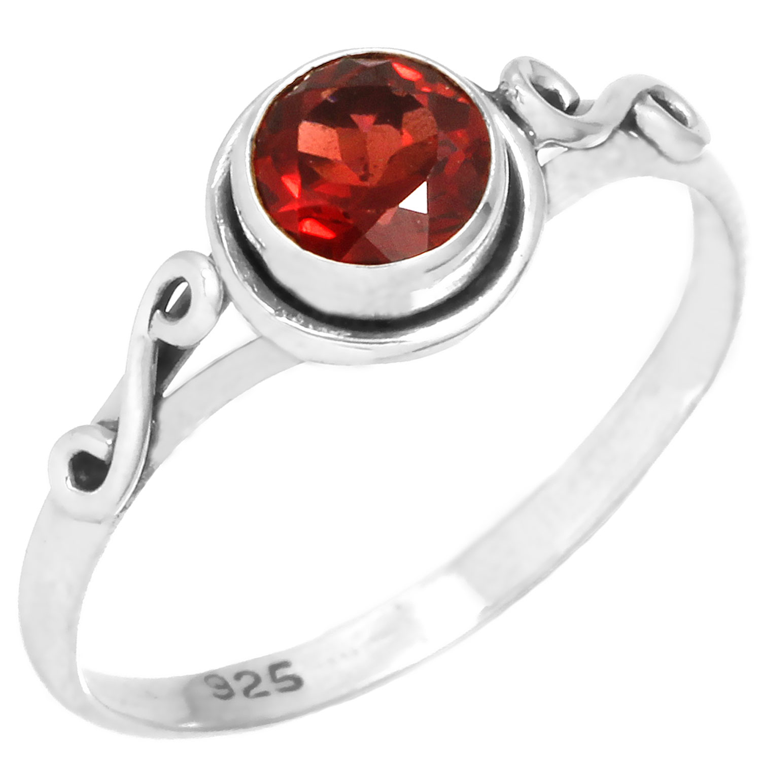 wholesale Wholesale Sterling Silver Gemstone Ring (rg705grf_7)