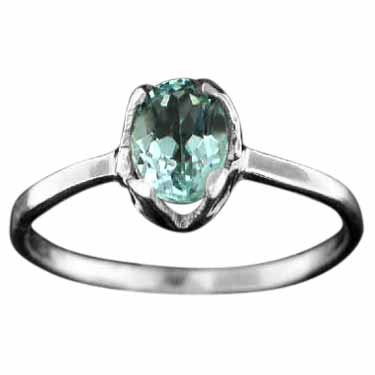 wholesale Sterling Silver Gemstone Ring (rg707btpf_9)
