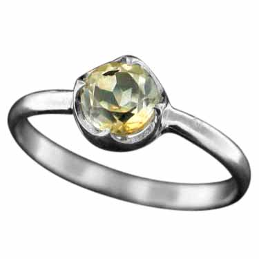 wholesale Sterling Silver Gemstone Ring (rg707ctf)