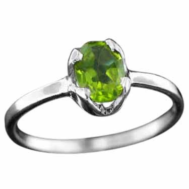 wholesale Sterling Silver Gemstone Ring (rg707prf)