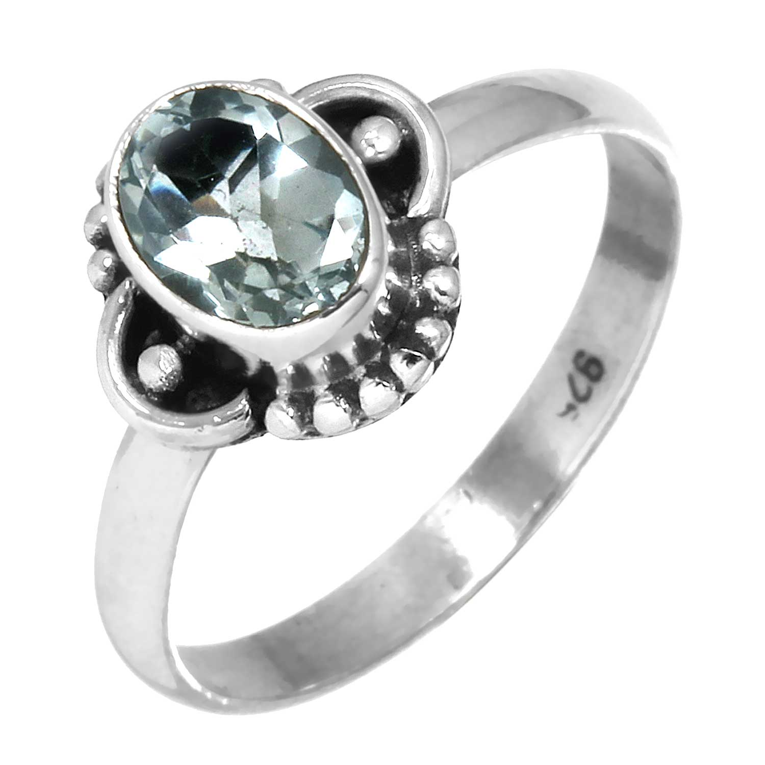 wholesale Wholesale Sterling Silver Ring (rg719btpf_8)