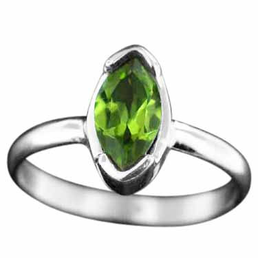 Sterling Silver Gemstone Ring (rg724prf)