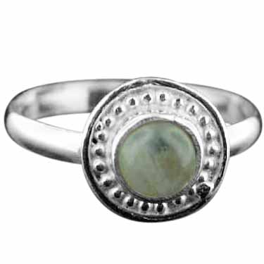wholesale Sterling Silver Gemstone Ring (rg725rm_5)
