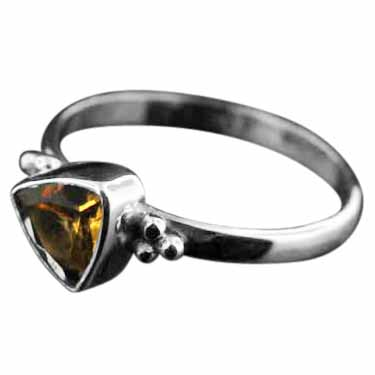 wholesale Sterling Silver Gemstone Ring (rg801ctf)