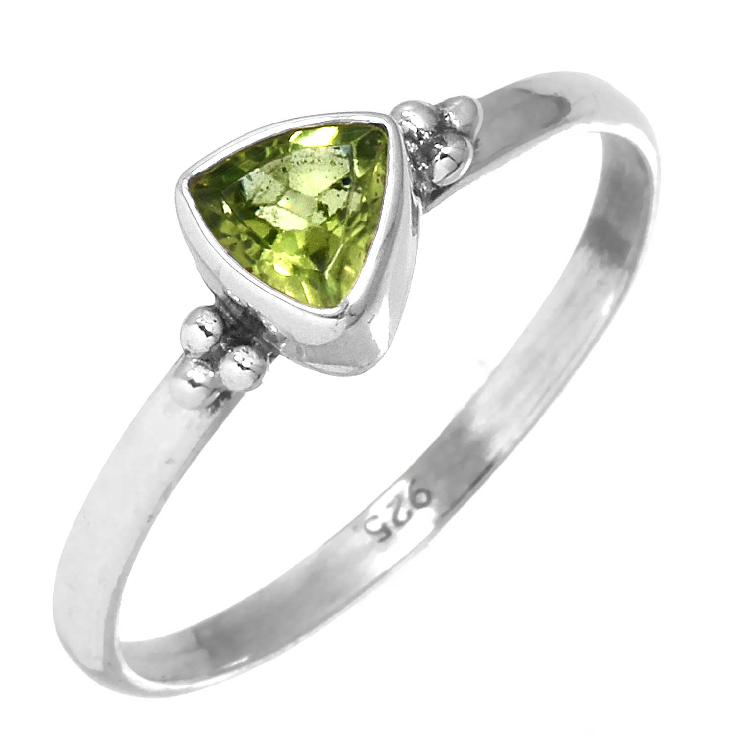 wholesale Sterling Silver Gemstone Ring (rg801prf_8)