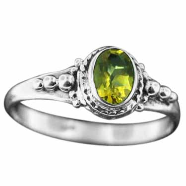 wholesale Sterling Silver Gemstone Ring (rg806ctf_9)