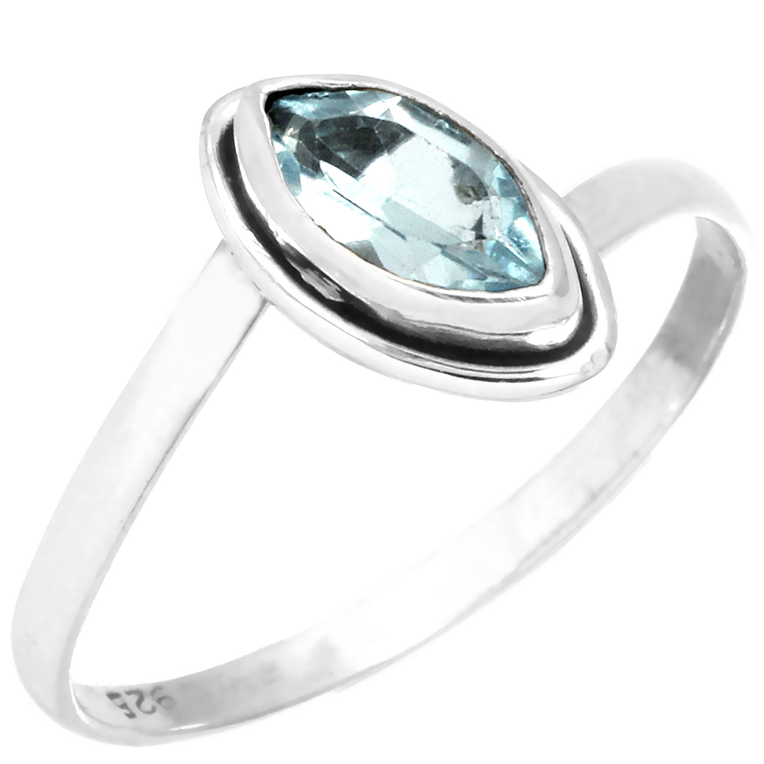 wholesale Wholesale Sterling Silver Gemstone Ring (rg812btpf_8)
