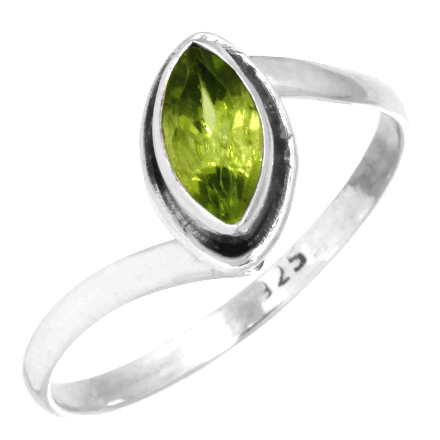 Sterling Silver Gemstone Ring (rn812prf_8)