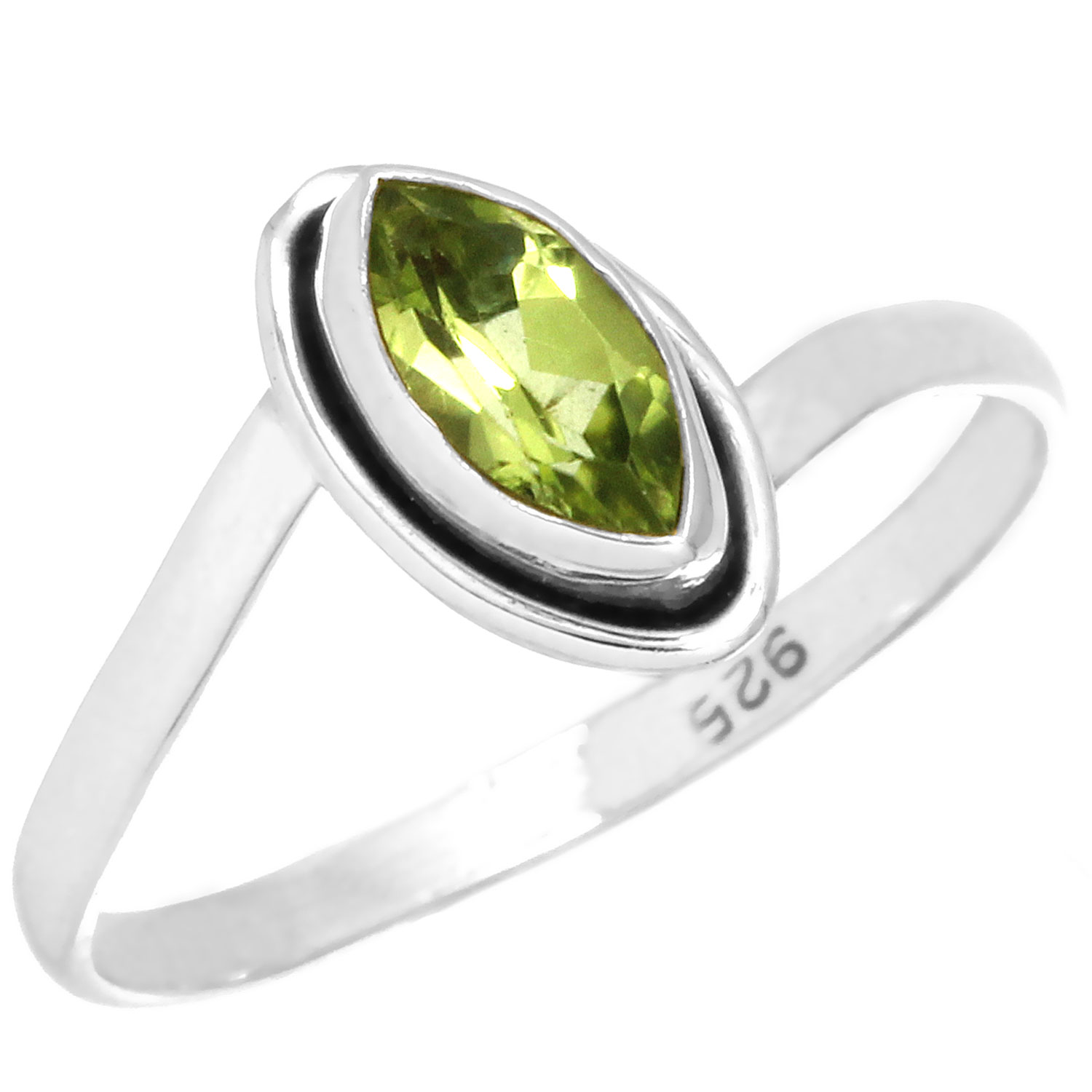 wholesale Sterling Silver Gemstone Ring (rn812prf_7)