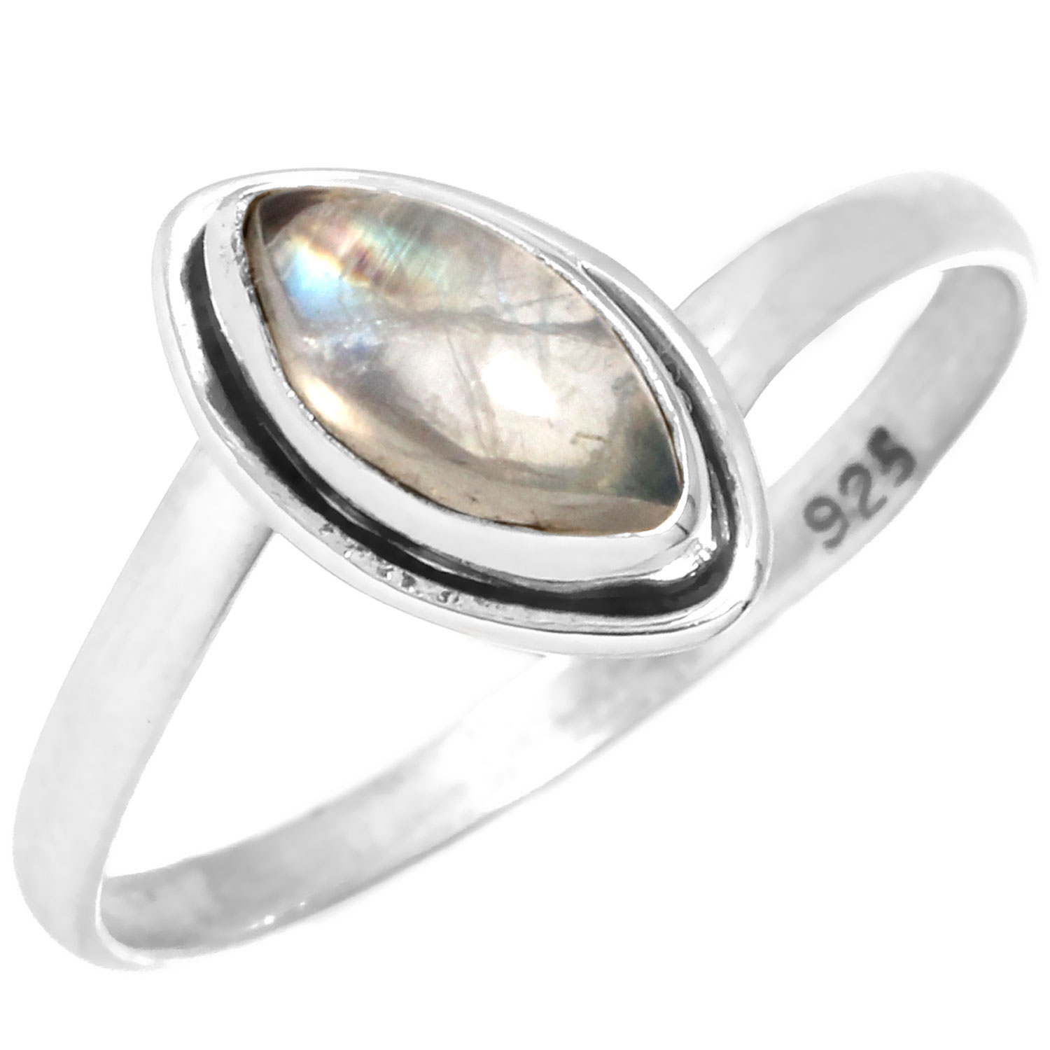 wholesale Sterling Silver Gemstone Ring (rg812rmf_8)
