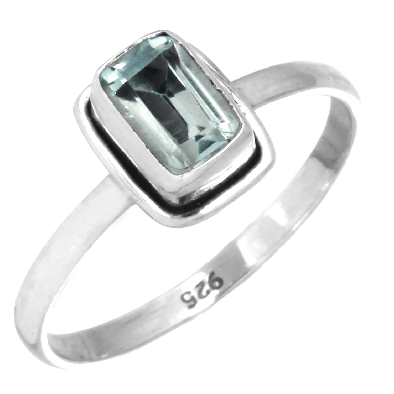 wholesale Sterling Silver Gemstone Ring (rg854btpf_6)
