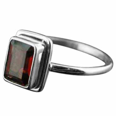 wholesale Sterling Silver Gemstone Ring (rg854grf_8)