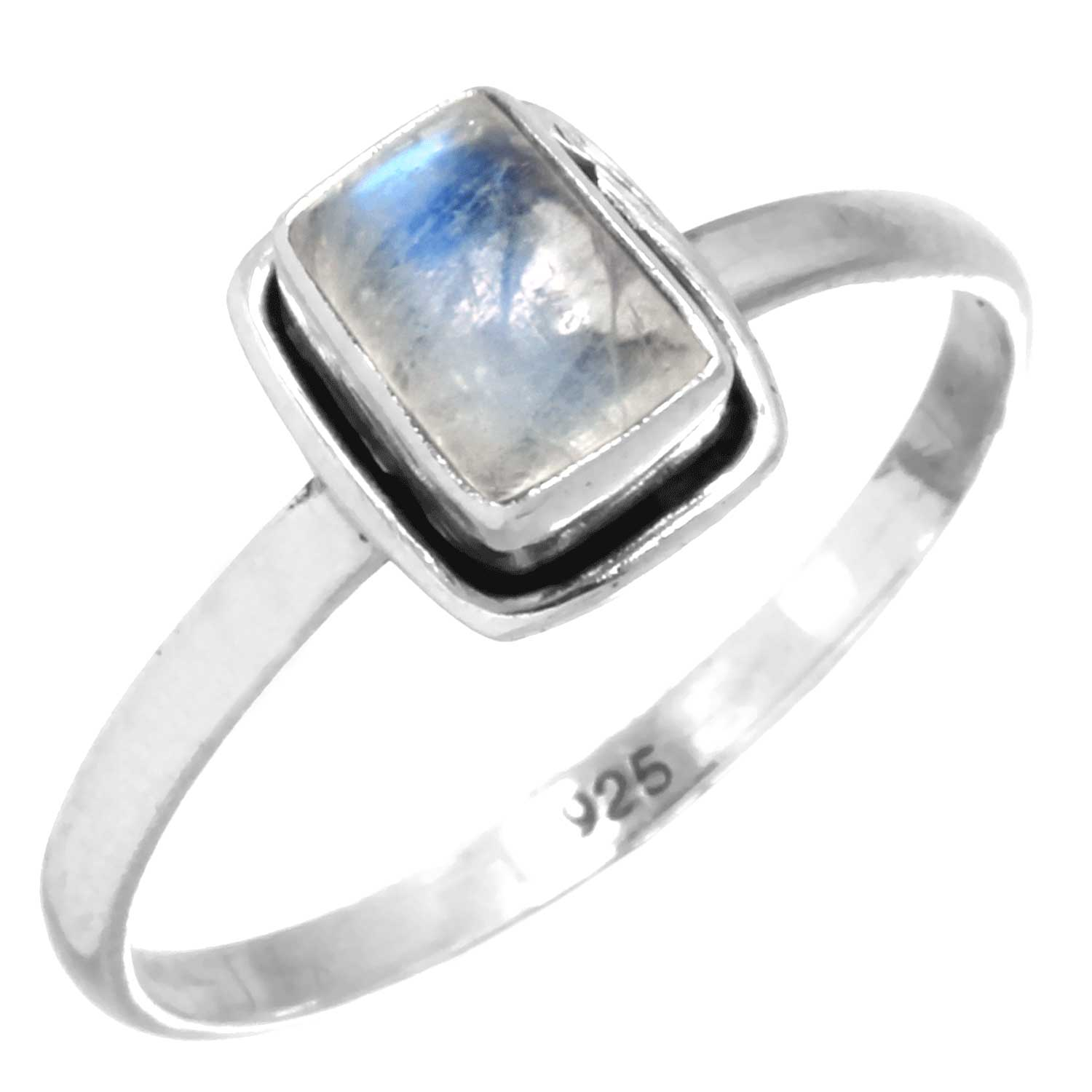wholesale Sterling Silver Gemstone Ring (rg854ctf_9)