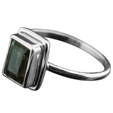wholesale Sterling Silver Gemstone Ring (rg854smtpf_7)