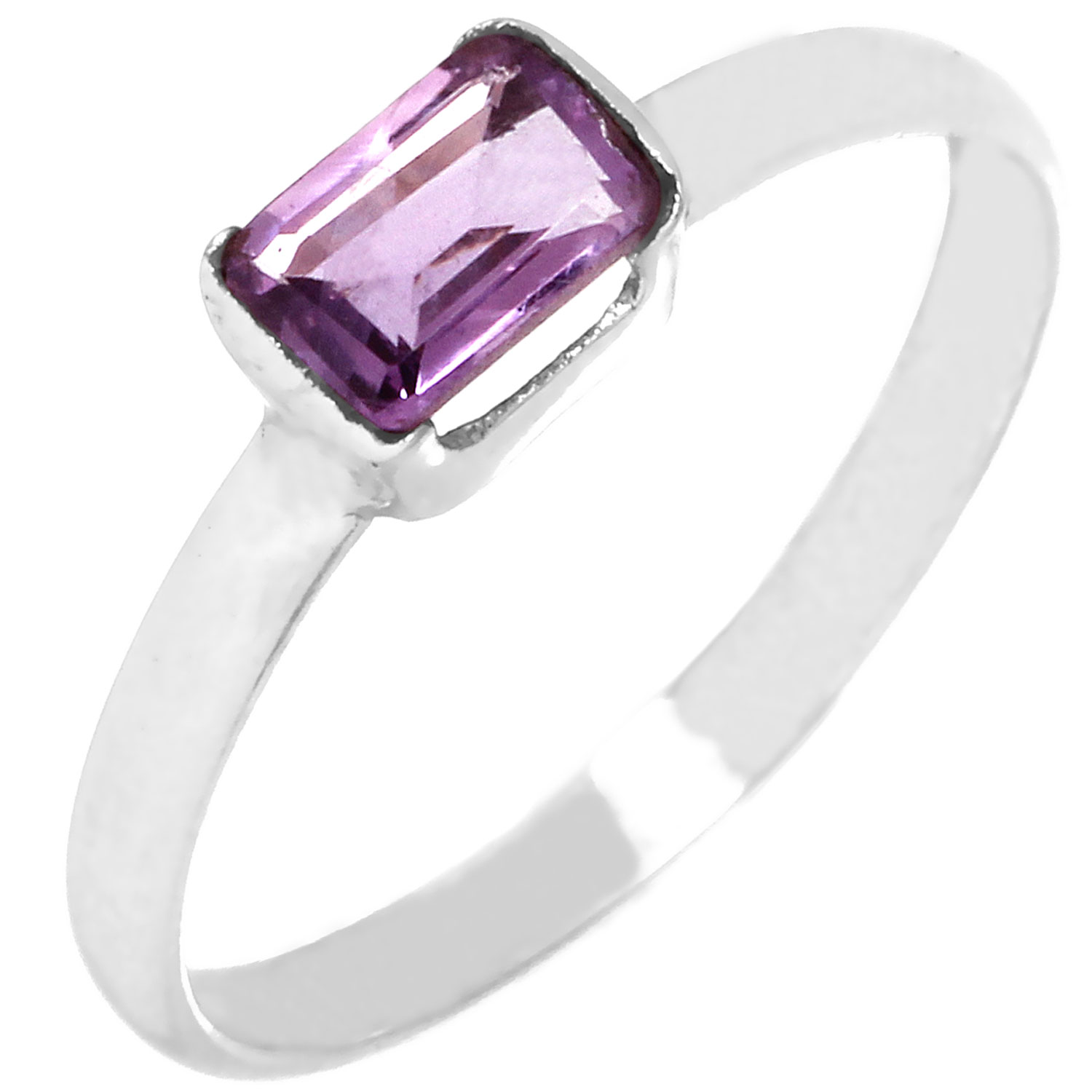 wholesale Wholesale Sterling Silver Gemstone Ring (rg912amef)