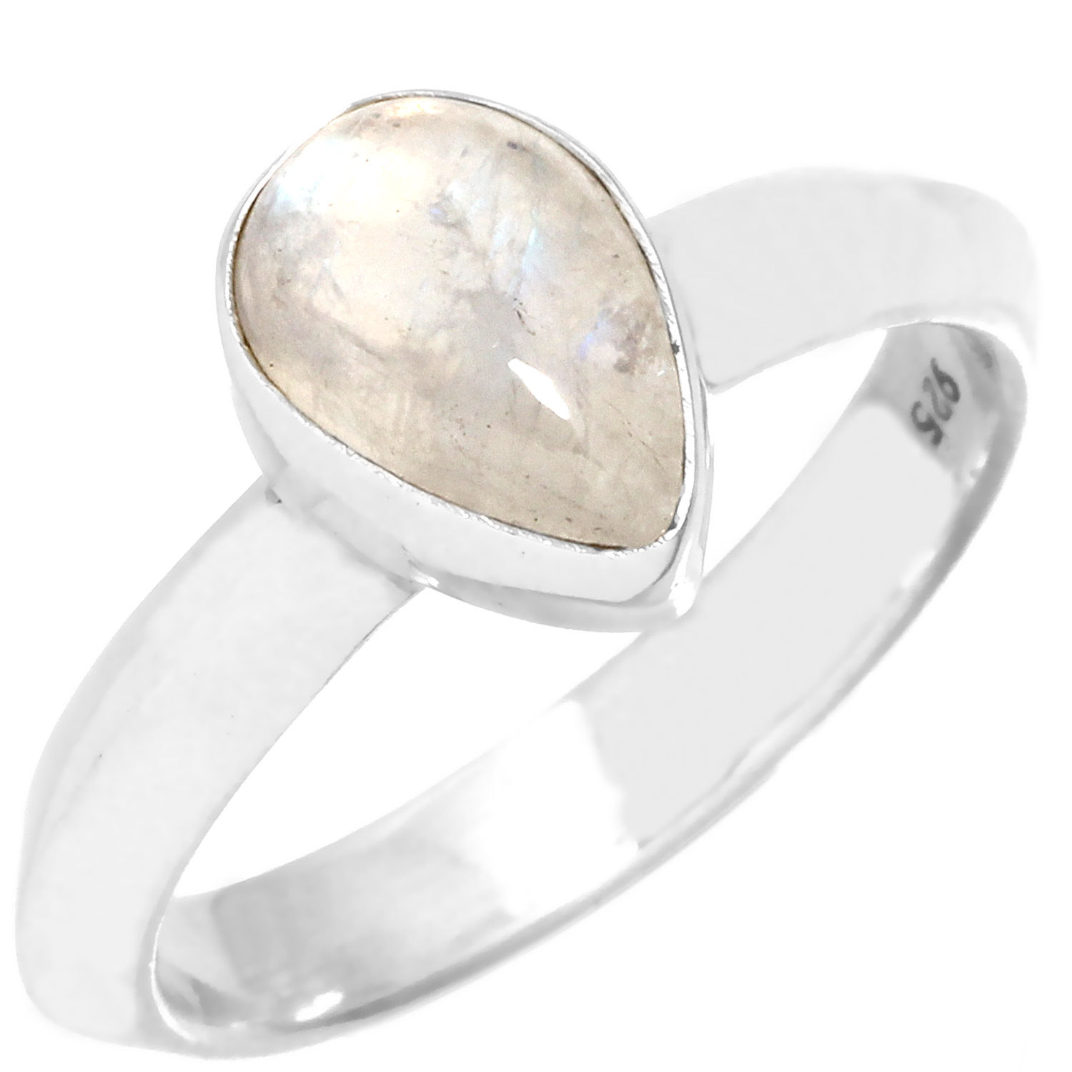 wholesale Wholesale Sterling Silver Gemstone Ring (rg957rm_9)