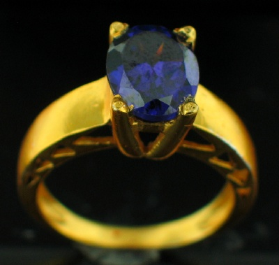 wholesale 24k Gold Plated Ring (rgg241P)