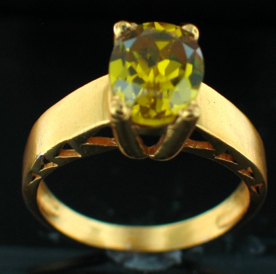 24k Gold Plated Ring (rg241Y_9)