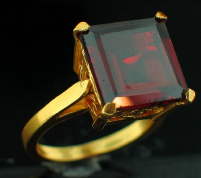 24k Gold Plated Ring (rgg287R)