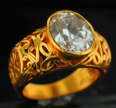 24k Gold Plated Ring (rgg305C_10)
