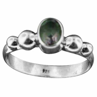 wholesale Sterling Silver Gemstone Ring (rn108bamef)